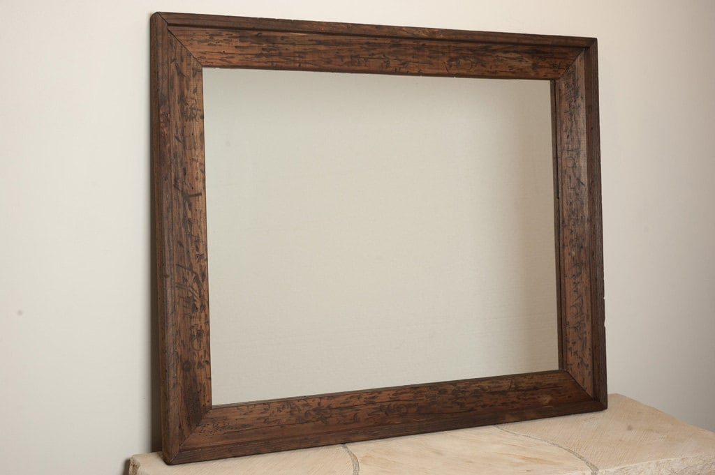 Large rustic wall mirror by englertandenglert on etsy for Rustic mirror