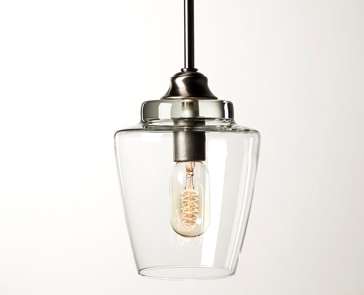 Pendant Light Fixture Edison Bulb Small Hurricane By