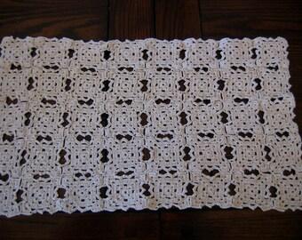 Vintage Doily Crochet Ecru