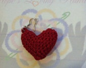 Luv Is In The Air Small Heart Earrings