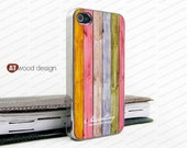 IPhone 4 case silvery iphone 4 case iphone 4s case iphone 4 cover Iphone colorized wood texture image unique design printing