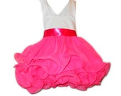 Pageant Babydoll Flower Girl Birthday Dress - PatrioticPrincess2