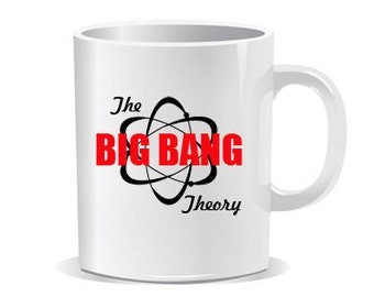 Big Bang Theory Funny Coffee Cup