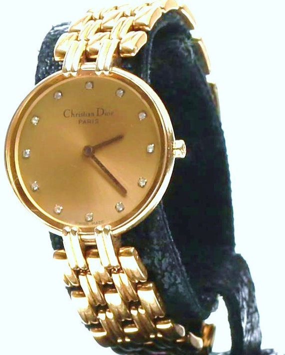 Dior watch on etsy vintage watch at antique ways
