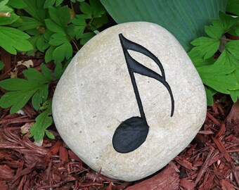 Grace Engraved Stone by JustinRVisser on Etsy