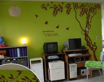 Beautiful branch Vinyl Wall Decals Home Decor
