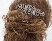 Bridal hair jewelry 1920's Wedding headpiece Bridal hair comb Wedding hair accessories 1920's bridal jewelry Wedding hair comb bridal comb