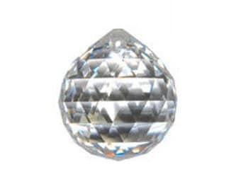 Swarovski STRASS 40mm Crystal Ball Prism Suncatcher Feng Shui (sku 11459 - 8558-40)