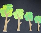 """Die cut """" Trees"""""""