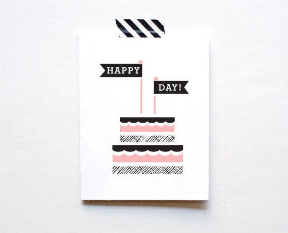 Happy Day, Birthday Card, Wedding Card, Celebration