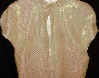 Sparkly shrug perfect for a special occasion