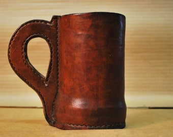 Leather Drinking Tankard/Mug