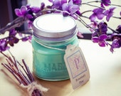 Rosemary Pine scented Soy Candle in 8oz Mason Jar
