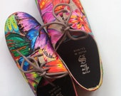 Hand-Painted Shoes.