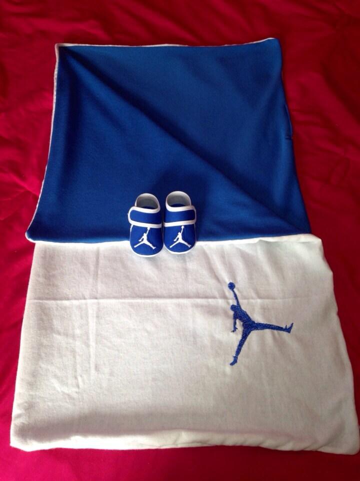 Nike Jordan Blankets