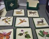 Vintage Scientific Nature Print Coasters