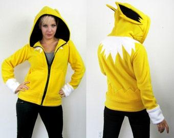 Evolution Electric -- Handmade Anti-Pill Fleece Hoodie / Sweatshirt