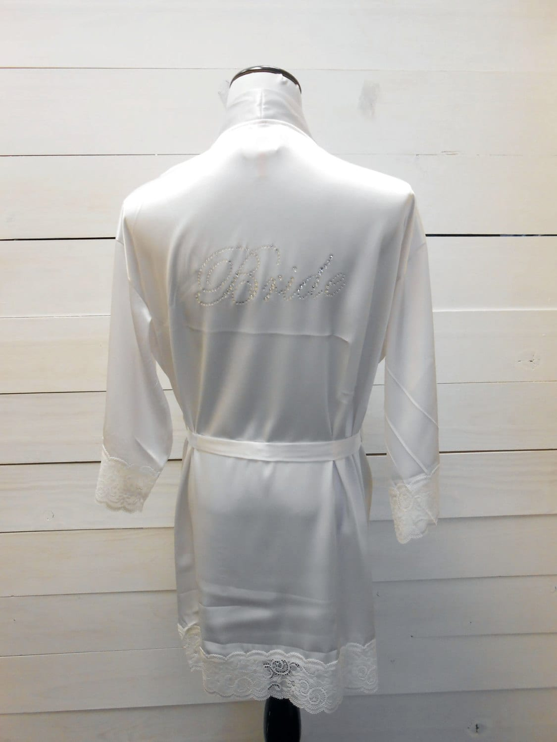 Wedding Bride Robe bride robe satin bridal party