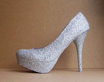 Glitter High Heel Any Color