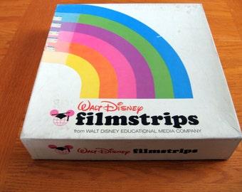 1950s-60s Walt Disney Soundtracks for Filmstrips- 17 Record Set