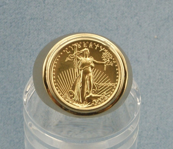 Items Similar To 1991 5dollar Gold American Eagle Coin