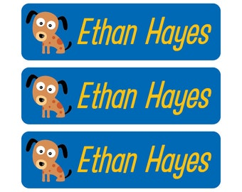 Personalized Daycare Labels, School Labels, Waterproof Labels