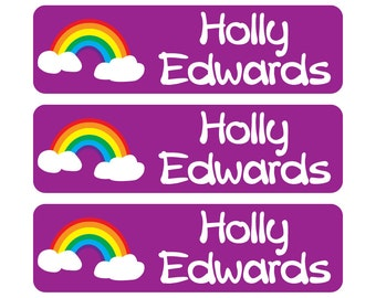 Dishwasher Safe Labels, Waterproof School Labels, Great for lunchboxes, school supplies, lockers, and more