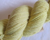 RESERVED for JENNY Weld Naturally Plant Dyed Merino Wool Yarn - Fingering Weight - 420 yards - M-16