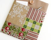 1415 inch Laptop Sleeve  MacBook Pro 15 Padded Case with Pocket   Shock Absorbent Foam Padding  Designer Fabric ROZA by Laura Lancella