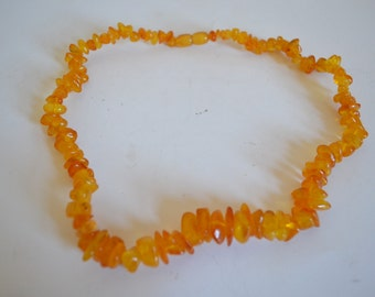 Vintage Polish Amber Necklace