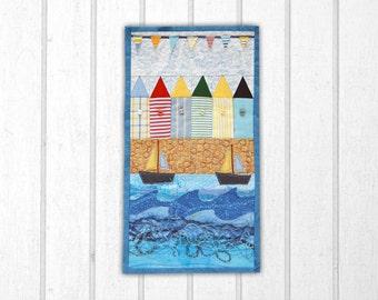Seaside View Miniature Quilt Pattern