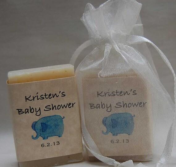 baby shower favor elephant favor handmade soap party favor