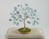 March Birthstone Tree - Aquamarine