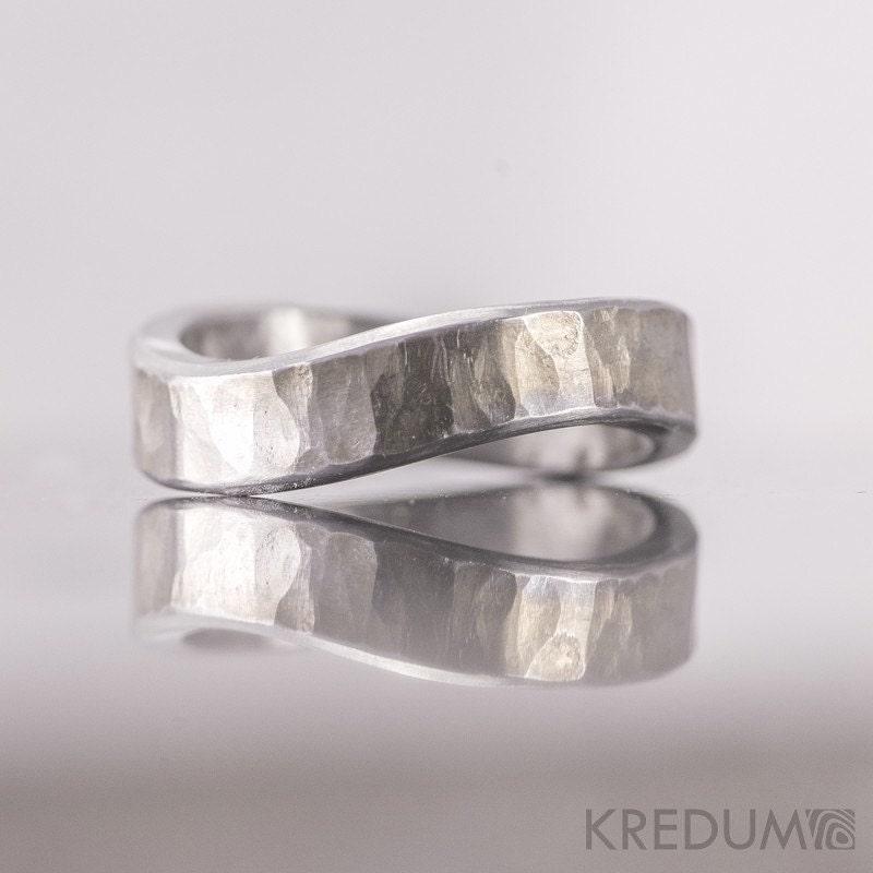 Infinity Wedding Ring Womens Ring Mens Ring Custom Hand
