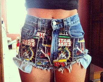 JEDI High Waist Shorts