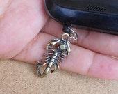 Ear cap Scorpion.  - Anti-Dust Plug Ear Cap 3.5mm for iPhone iPod