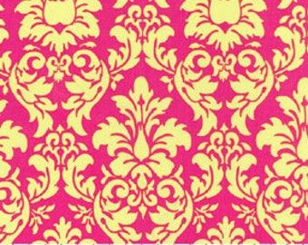 Dandy Damask Watermelon by Michael Miller Fabrics, priced by the yard