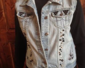 Rockabilly/Punk/Biker/Studded/Johnny Cash Vest