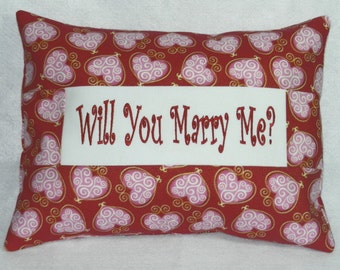 Will You Marry Me - Pillow Cover - READY TO SHIP