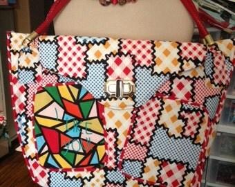 I Like You by Amy Sedaris Fabric. New Custom Designed Bag