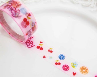 Deco tape kawaii sweet berry multi colored
