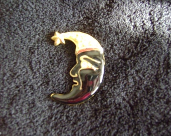 The Man in the Moon Brooch