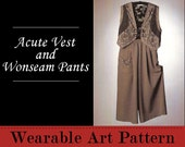 Acute Vest and Wonseam Pants - one seam makes the pants so easy