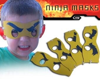 Ninja Masks (Digital File)