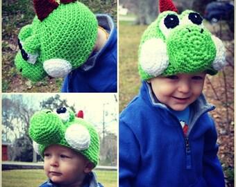 Super Mario Yoshi Hat