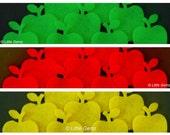 10x Apples - Felt Die-Cuts - Appliqués - Cardmaking etc... Pick your colour or Mix n Match