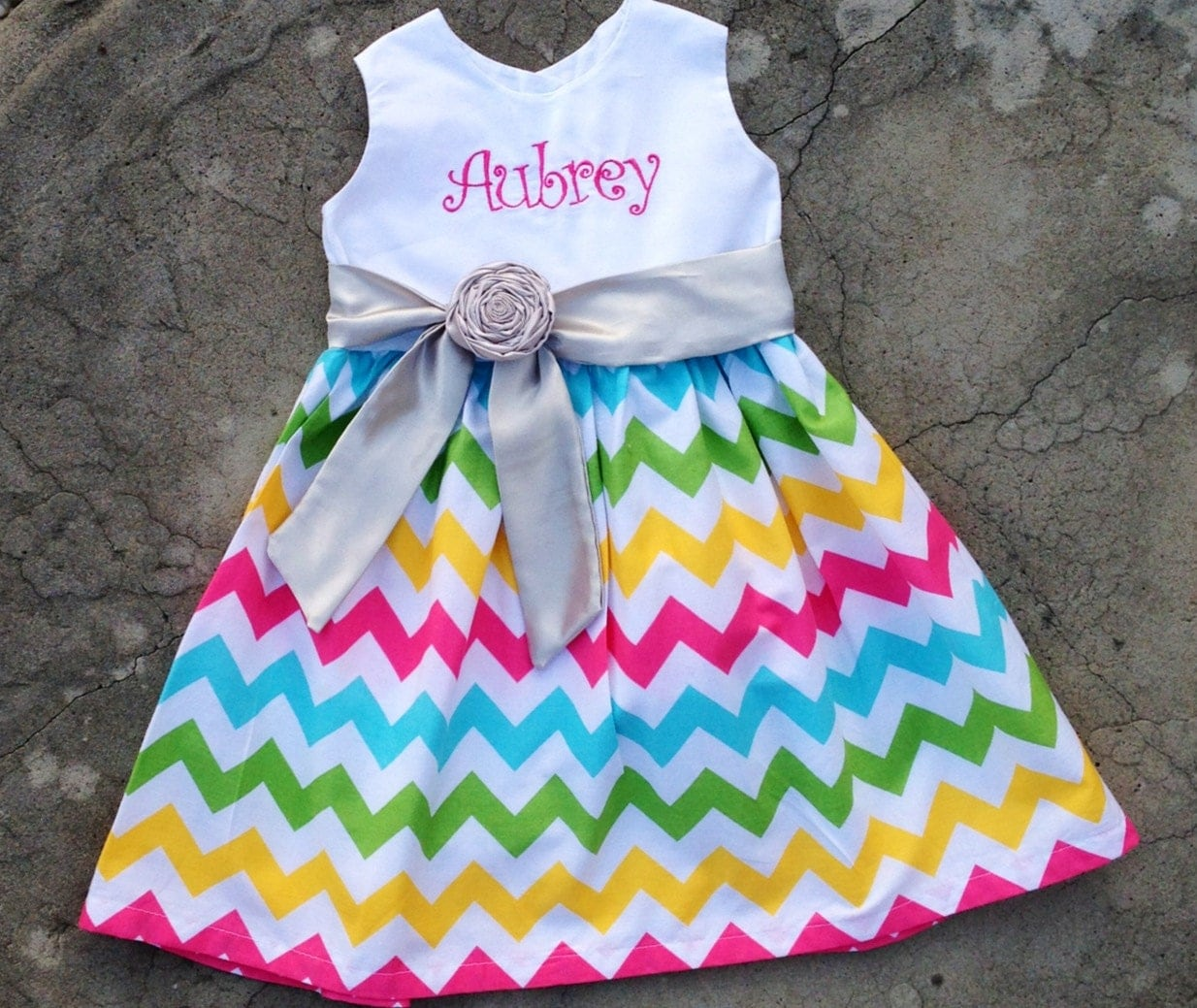 Girls Easter Dresses Personalized baby girl clothes baby