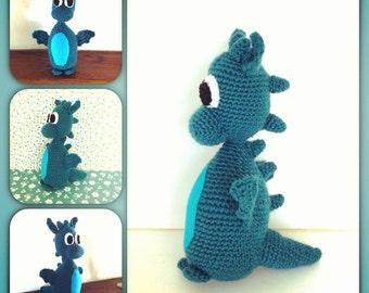 Dragon Crochet Pattern PDF Instant Download