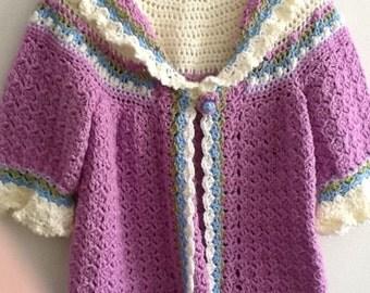 Girls sweater size 5 t0 6
