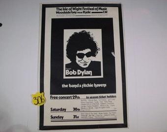 1970's Isle of Wight Original Festival poster